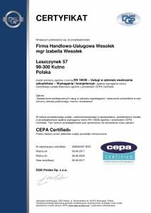 FHUWesołek EN16636 Certifikat PL[436]-1